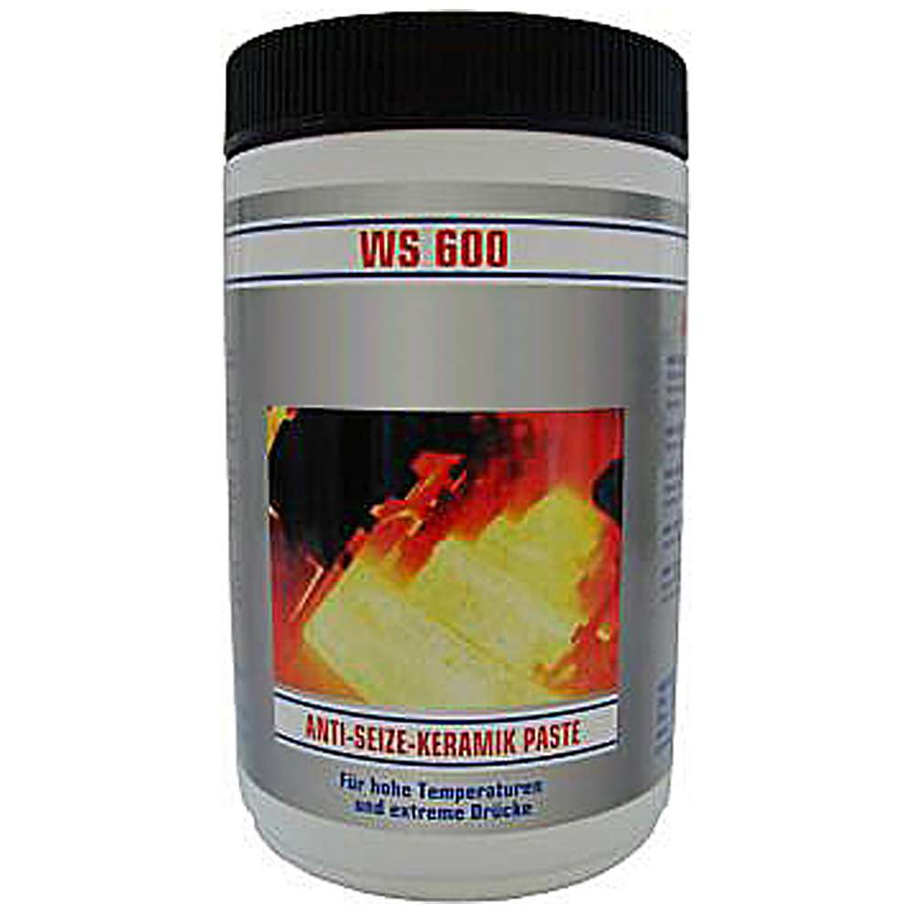 "Ceramic paste ""WAS 600-1000 - cream colored - 1000g tin"
