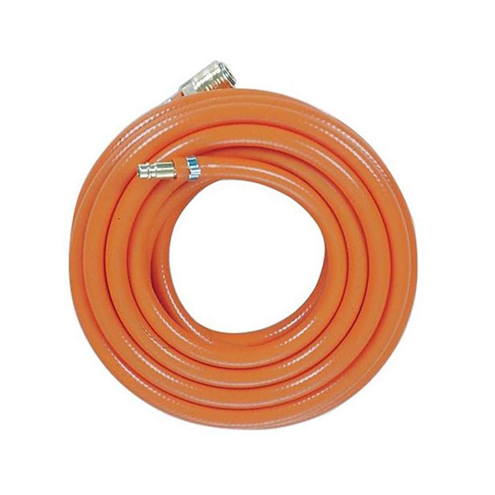 Tuyau à air comprimé en PVC - Schneider DLS - avec armature en tissu - orange - max. 15 bar - prix par pièce