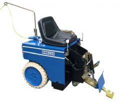 Carpet stripper - width 690mm - 2 x 1,1 kW / 230V - BLASTRAC BMS-220