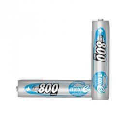 ACCU Batterier - 8 - Batterityp AAA - Kapacitet 800 mAh