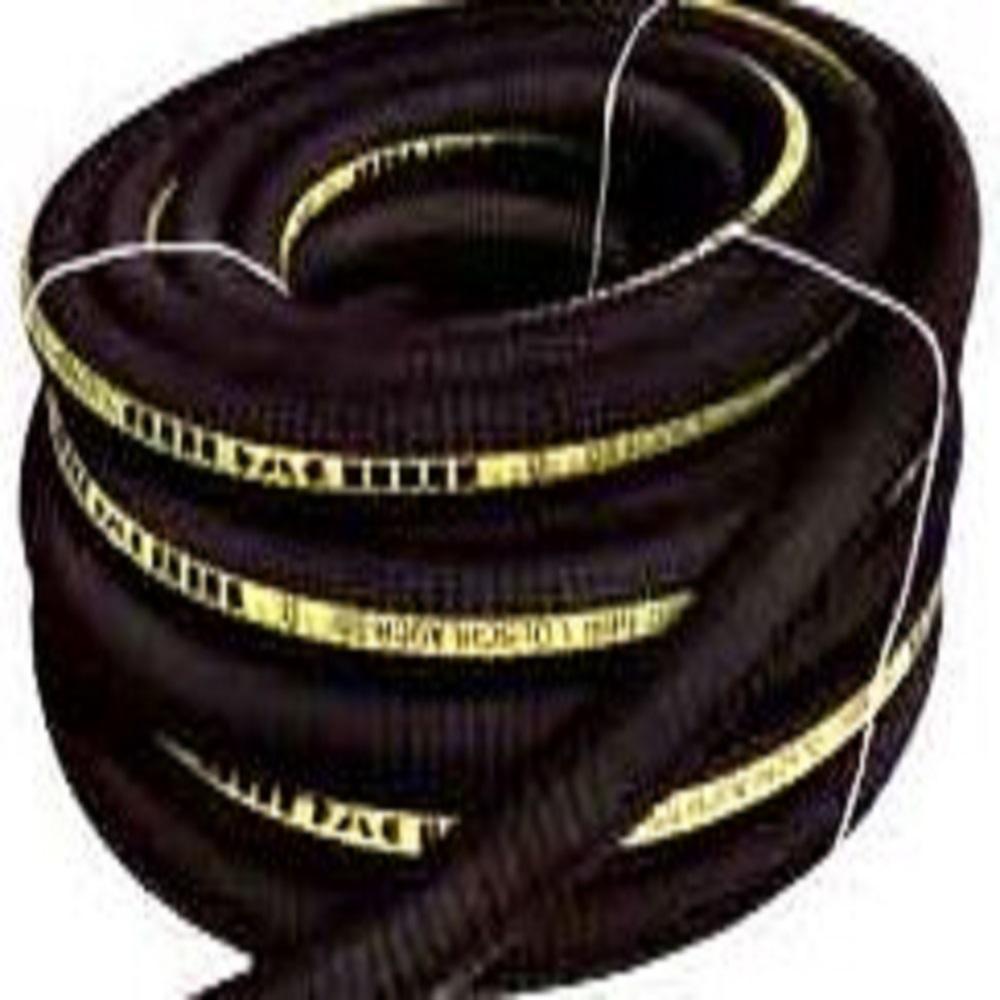 Spiralslang - gummi - oljebeständig - svart - Inner-Ø 20 - 80 mm
