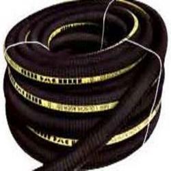 Ölspiralschlauch - mit Stahlspirale- Innen-Ø 20 bis 80 mm - schwarz - Preis per Meter und Rolle