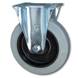 Hjul - fälg plast - hjulbana gummi - till 350 kg