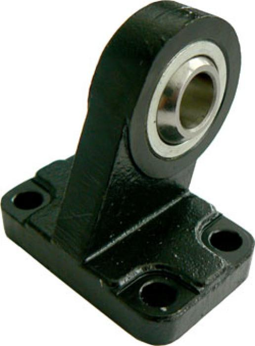 Svängfäste 90° sfärisk kopplingslänk - polerat stål - ISO 15552, 21287