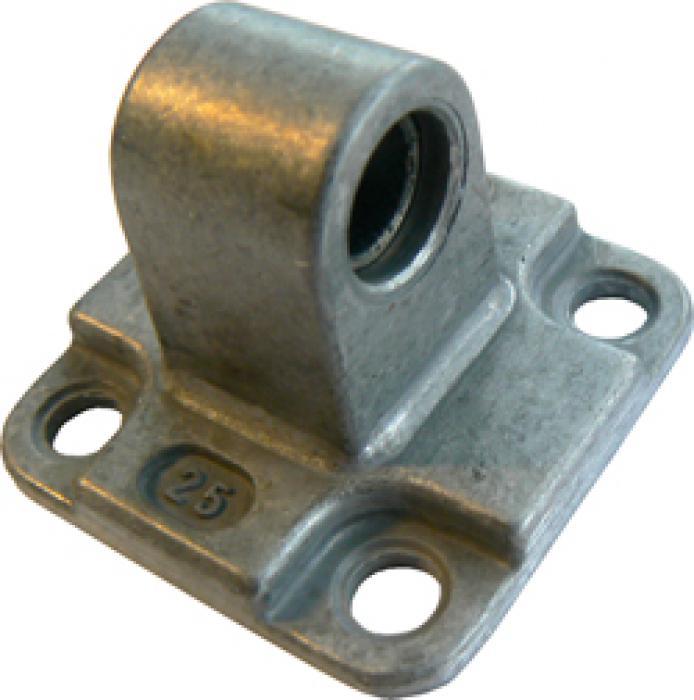 Svängfäste kopplingslänk - för kompaktcylinder ISO 21287 - aluminium