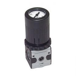 Régulateur de pression avec manomètre intégré - série 1 - jusqu'à 2100 l/min