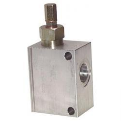 Soupape de limitation de pression - à commande directe - 150 l/min - Aluminium