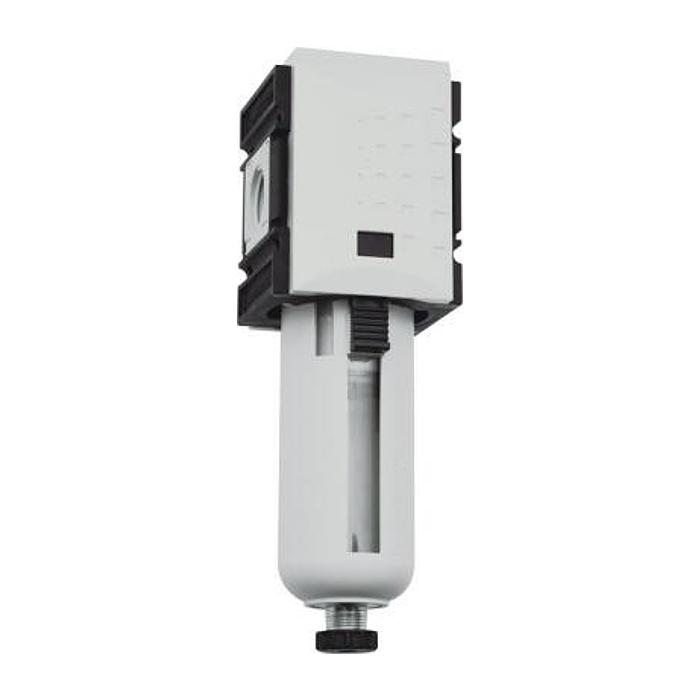 Filtre pour air comprimé Futura - 16 bar - 8000 l/min - 5µm - avec vidange manue