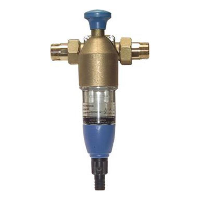 Backflush filter til drikkevand og brugsvand - PN 16 - messing