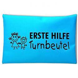 Førstehjælp kit - udførelse Turnbeutel - for lomme + Turnbeutel