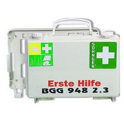 """Førstehjælp kit """"QUICK-CD"""" - fyldt - for BGG 948 2.3 - DIN 13157"""
