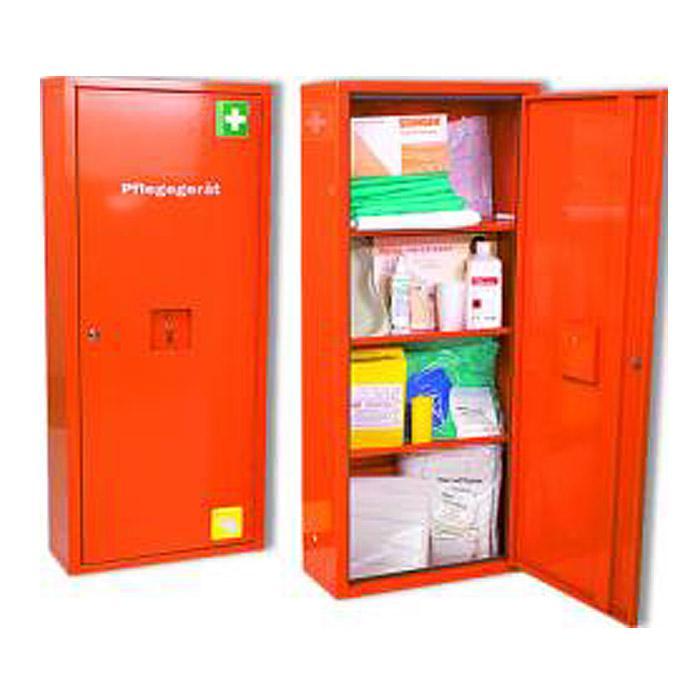 Anbausafe - Pflegegerät - gefüllt - verschließbar
