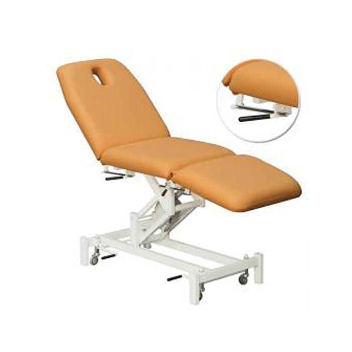 Behandlungsliege - C 500 - elektrisch -  3teiliges Polster