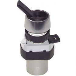 3/2-Wege-Tasterventil M5 für Schalttafeleinbau Ø 22,5 mm - Kippschalter - 6 N