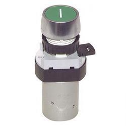 5/2-Wege-Tasterventil M5 für Schalttafeleinbau Ø 22,5 mm - Drucktaste - 23 N