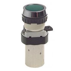 5/2-Wege-Tasterventil M5 für Schalttafeleinbau Ø 30,5 mm - Drucktaste - 24 N