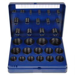 """O-ringar i låda """"H"""" - NBR - 386 stycken - 30 olika storlekar"""