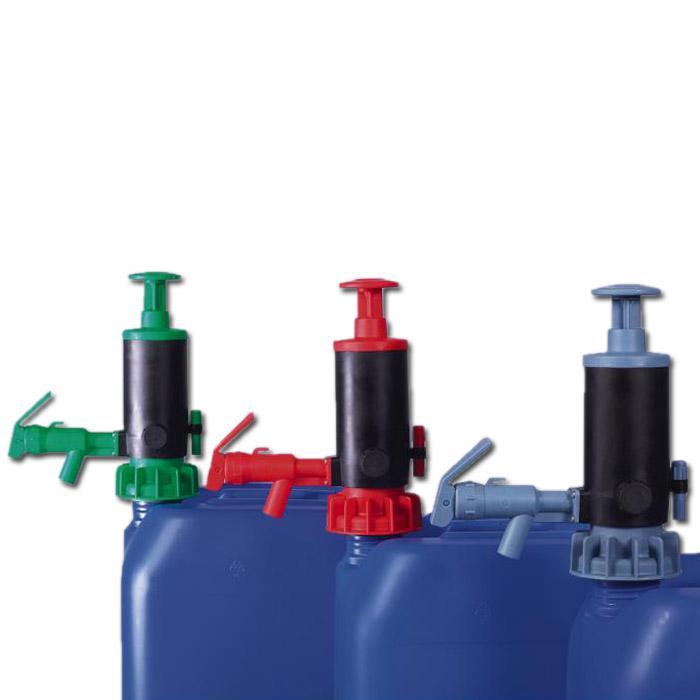 Kanister- und Fasspumpe - PP - max. 20 l/min - unterschiedliche Dichtungen