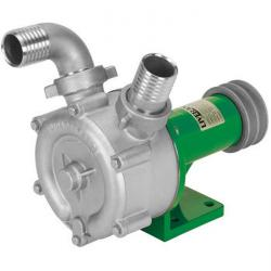 Side channel centrifugal pump - stainless steel - for V-belt