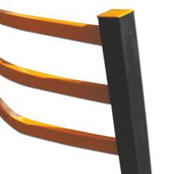 A-Safe Flexibles Sicherheitsgeländer - Holmensatz 3 Holmen - Länge 1500 mm