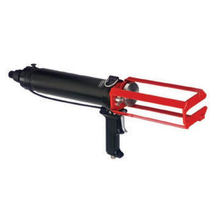 2-k tryckluftpress - för patroner - 1:1 till 10:1 - 6,8 bar