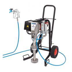 Färgsprutsystem - elektriskt - körvagn - 5 l/min