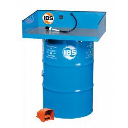 IBS Parts Cleaning Device Type KP - 200 liter drum - bearing capacity 80 kg