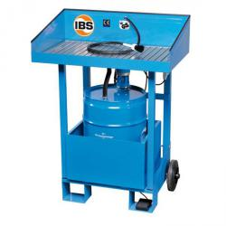 IBS Parts Cleaning Device Type F2 - carrying capacity 100 kg - 50 liter drum
