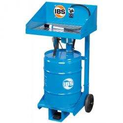 IBS Parts Cleaning Device Type F - 50 l drums - load capacity 40 kg
