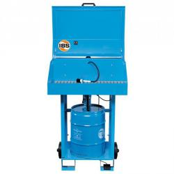 IBS Parts Cleaning Device Type F2D - carrying capacity 100 kg - 50 l barrel