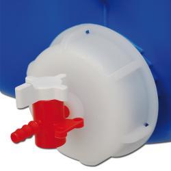 Avluftningslock - för lagringsbehållare - röd/vit
