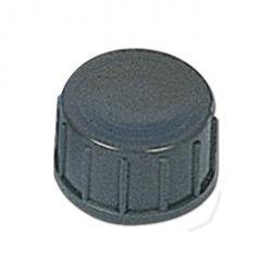 Lock för 3/4'' - grå - PVC