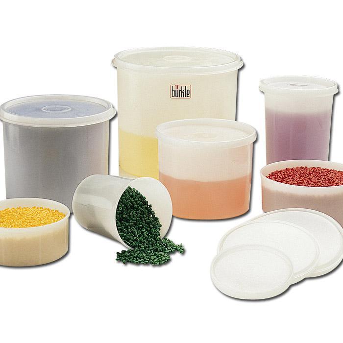 Allzweckdosen - rund - 250-143 ml -40 °C bis kurzzeitig +95 °C