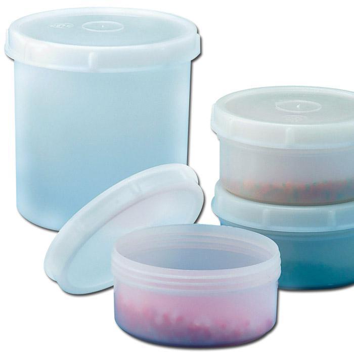 Dosen - transparent - mit Schraubdeckel - 250-1000 ml
