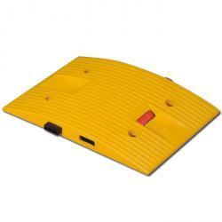 Temposchwelle - PP - Mittelstück - 40 km/h - 330x500x45mm - gelb