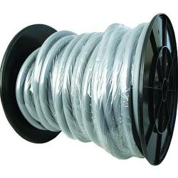 Washing machine drain hose - 40 m roll - up to +60° C - serrated
