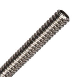 Edelstahlwellrohr 1.4404 - Innen-Ø 12,4 bis 40,5 mm - Außen-Ø 16,5 bis 49,6 mm - Preis per Rolle