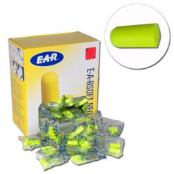 """EARSOFT""  Gehörschutzstöpsel - EN 352-2 - Box mit 250 Paar"
