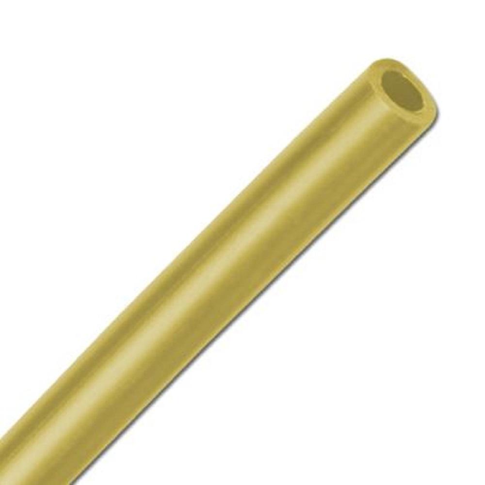 Polyetenslang - gul - 45 D - 4 x 2 till 14 x 12 mm