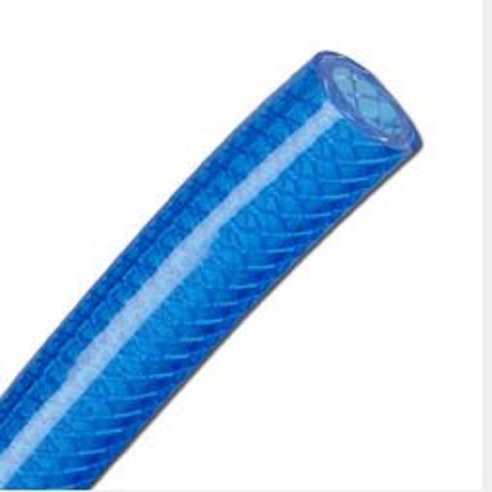 Tryckslang - PVC - till 60 bar - inner- Ø 6-19 mm - blåtransparent - ftalatfri