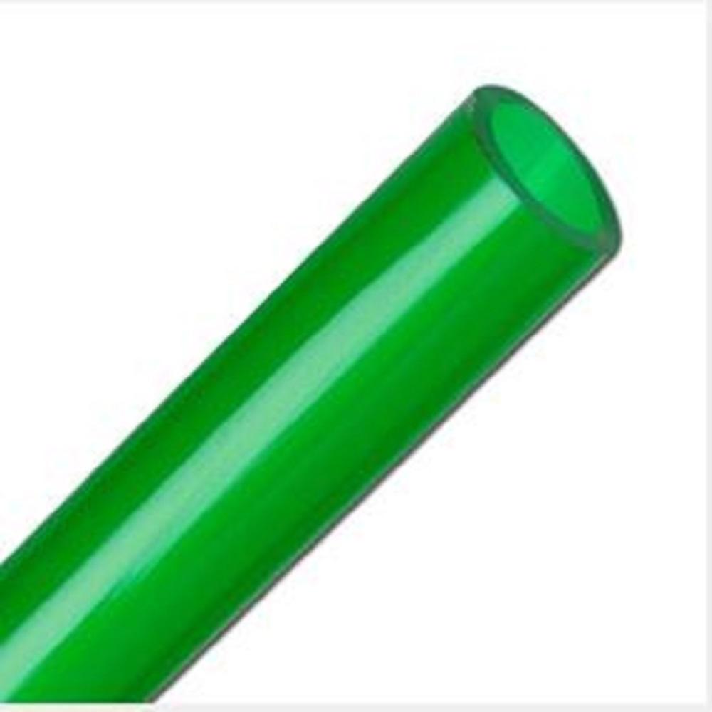 PVC-Wasserschlauch - Aquarienschlauch - transparent grün -  Innen-Ø 4 bis 16 mm - phthalatfrei - Preis per Rolle und Meter