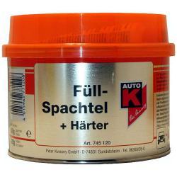 Fyllspackel - 250 g (245 g spackel + 5 g härdare)