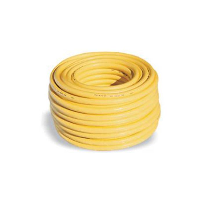 PVC-Wasserschlauch - Trikotgewebeschlauch - gelb - Innen-Ø 1/2 bis 1 Zoll - 8 bis 12 bar - Preis per Rolle