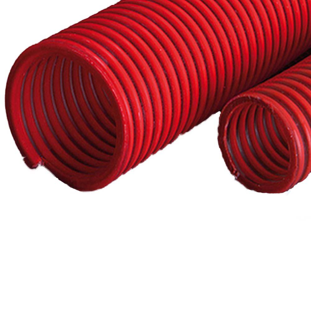 PVC-Förderschlauch - lebensmittelecht - Innen-Ø 32 bis 65 mm - Außen-Ø 40,2 bis 75,8 mm - 50 m - Preis per Rolle