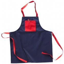 Bib apron children blended fabric, 245 g / m² with breast pocket