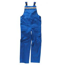 "Dungarees ""beb"" plumbing / heating, blended fabric, royal blue"