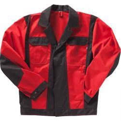 "Jacka ""beb"" - Premium - blandväv - 300 g/m² - röd/svart"