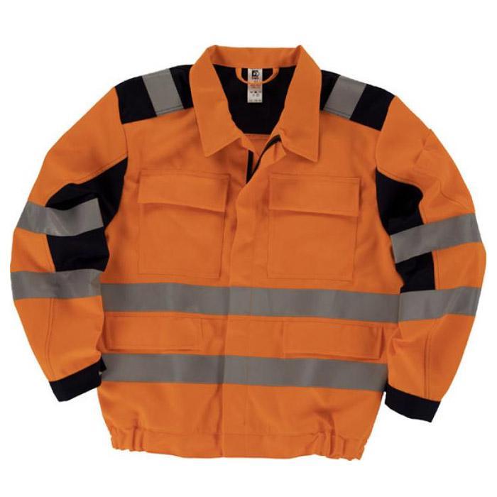 Waisted giacca - EN 471 - 270 g / mq - cintura con elastico