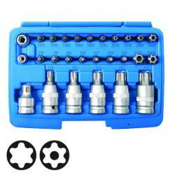 Bit- und Biteinsatz - Set - Chrom-Vanadium -Stahl - 27-tlg.