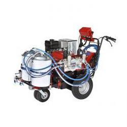 Vägmarkeringsutrustning - bensinmotor - för 2 färger